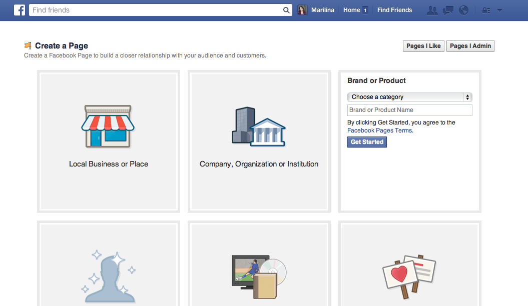 how to change category on facebook business page